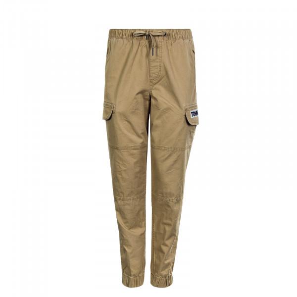 Herrenhose Cargo Pant Tapered Cuffed Khaki