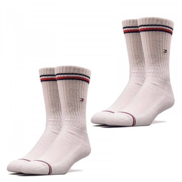 Socken TH Men Iconic 2er Pack White
