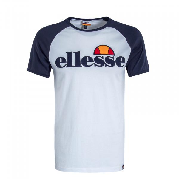 Herren T-Shirt Piave White Navy