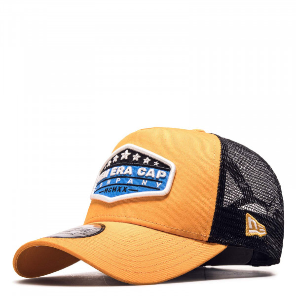 Cap Star Patch Truck Orange