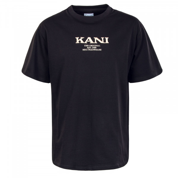 Herren T-Shirt - Retro - Black