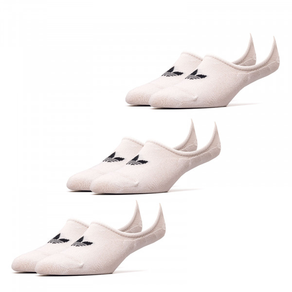 Socken 3er Pack - Low Cut - White