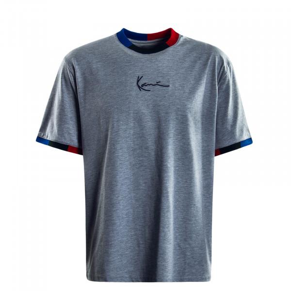 Herren T-Shirt Signature Grey