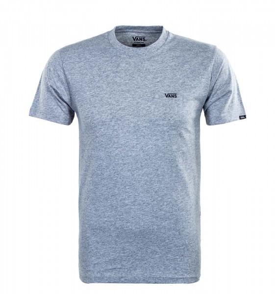 Herren T-Shirt - Left Chest Logo Athletic - Grey / Black