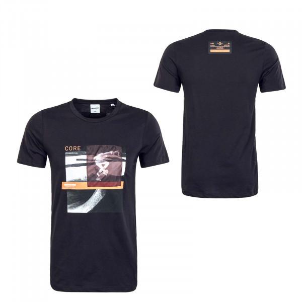 Herren T-Shirt - Cothrough Crew - Black