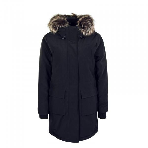 Damenmantel New Sally Long Coat Black