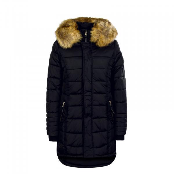 Damen Mantel Papaya Black