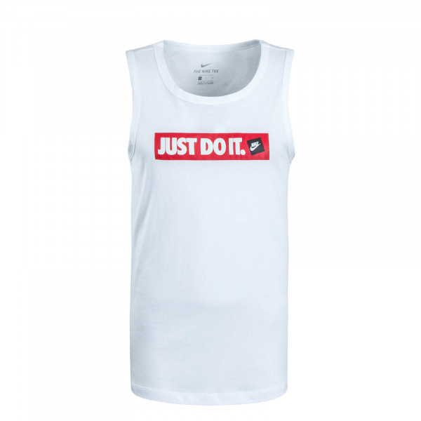 Herren Tank Just Do It White