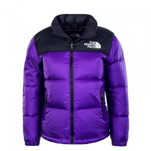Mädchen Jacke 1996 Retro Nuptse Peak Purple