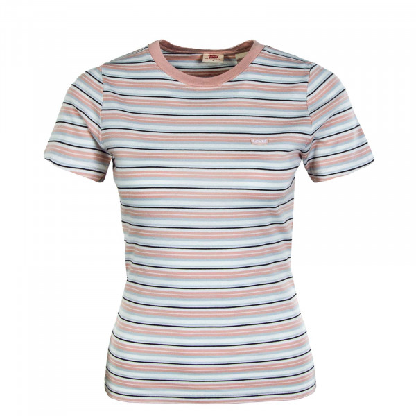 Damen T-Shirt - Rip Baby Coco Stripe - Evening Sun