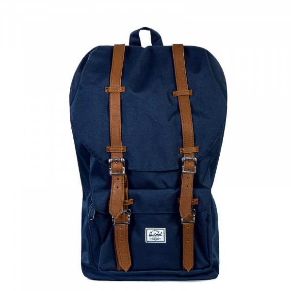 44d2750a6c2af Backpack Little America Navy