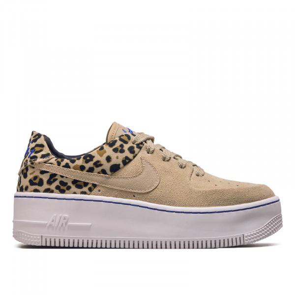 Nike Wmn Air Force 1 Sage Low Leo Beige