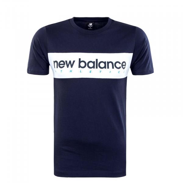 Herren T-Shirt - Athlineart Ecl - Navy