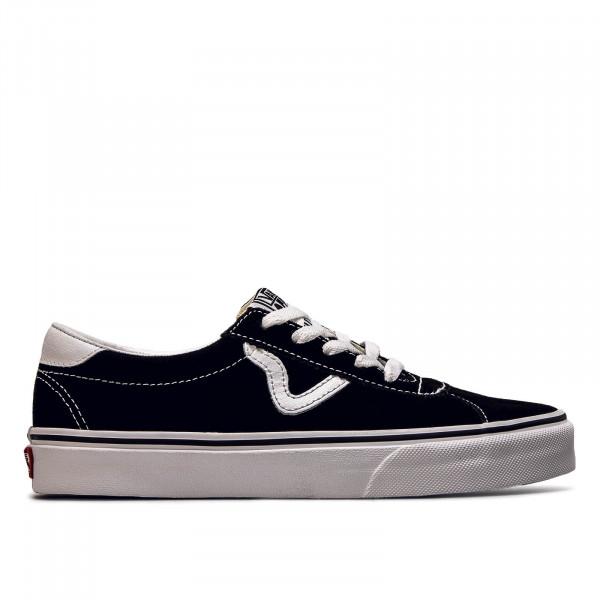 Unisex Sneaker Sport Suede Black White
