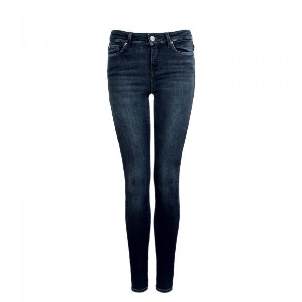 Damen Hose - Shape Life Reg Skinny Denim - Black