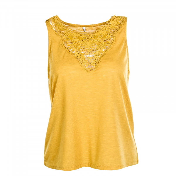 Damen-Top Lisa S/L Golden Spice