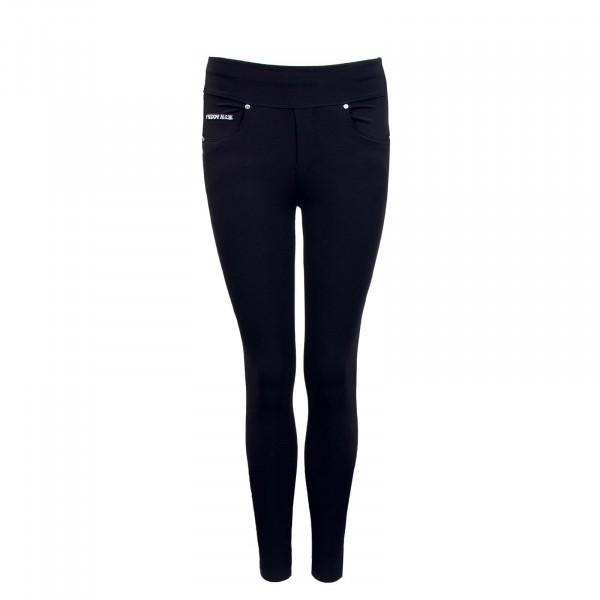 Damen Hose - Pantalone Lungo - Black