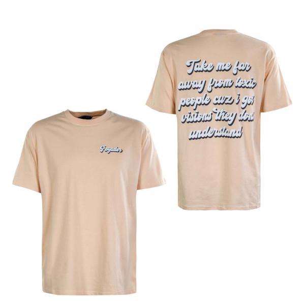 Herren T-Shirt - Granada Oversized - Peach