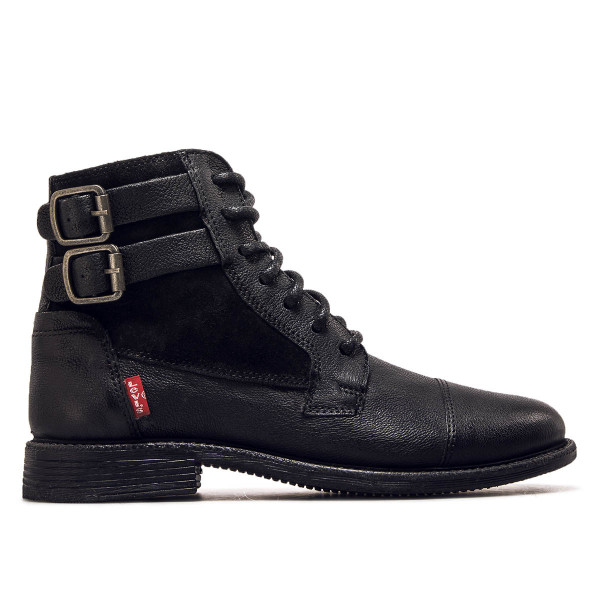 Levis Wmn Boot Maine Lth Black