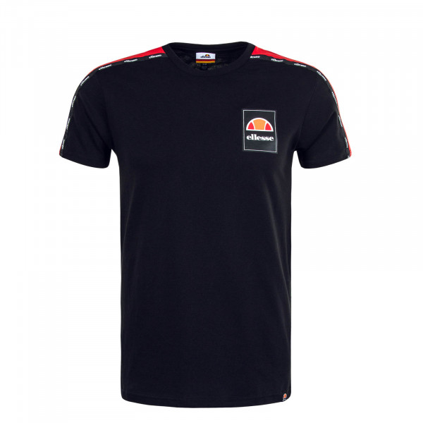 Herren T-Shirt Serchio Black Red
