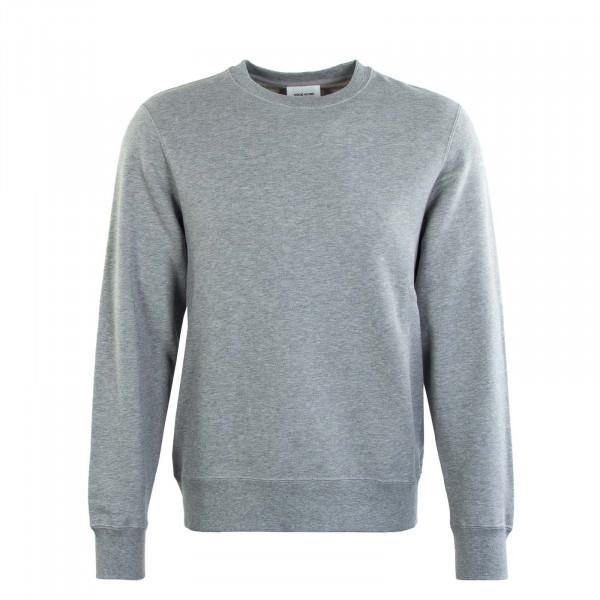 Herren Sweatshirt - Hugh Classic - Grey / Melange