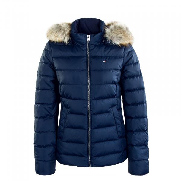 Damen Jacke Basic Hooded 8588 Twilight Navy