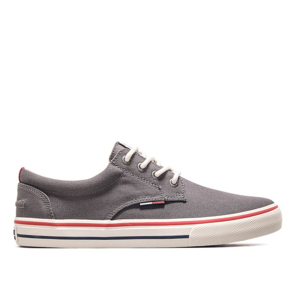 Tommy Sneaker Textile 001 Steel Grey