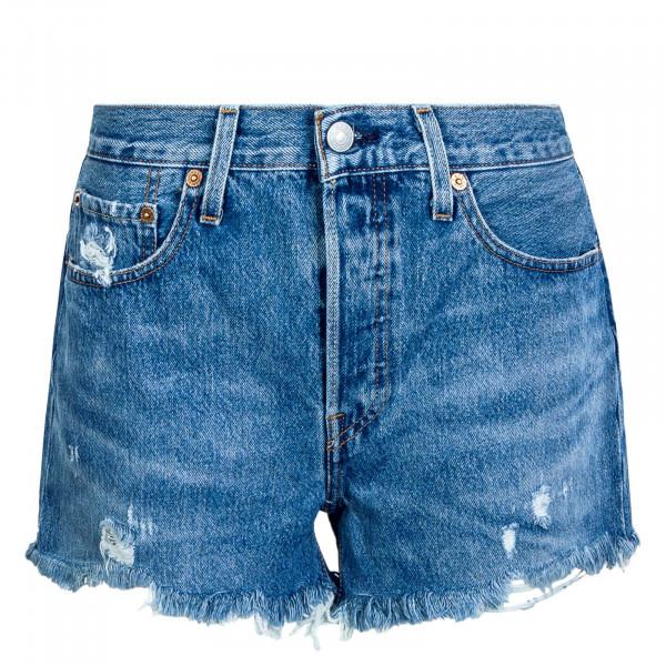 Damen Shorts 501 Original Athens Mid Blue