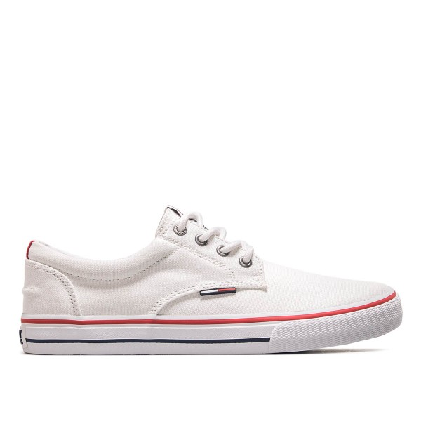Tommy Sneaker Textile 001 White