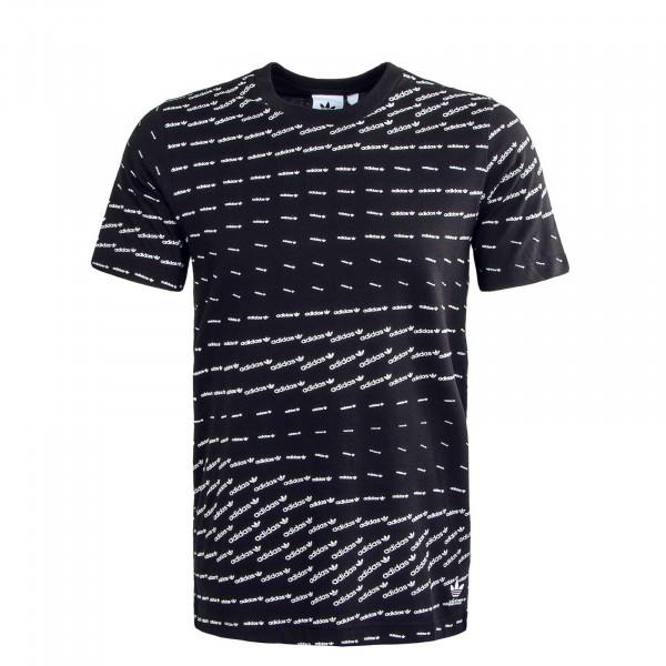 Herren T-Shirt - Mono - Black / White