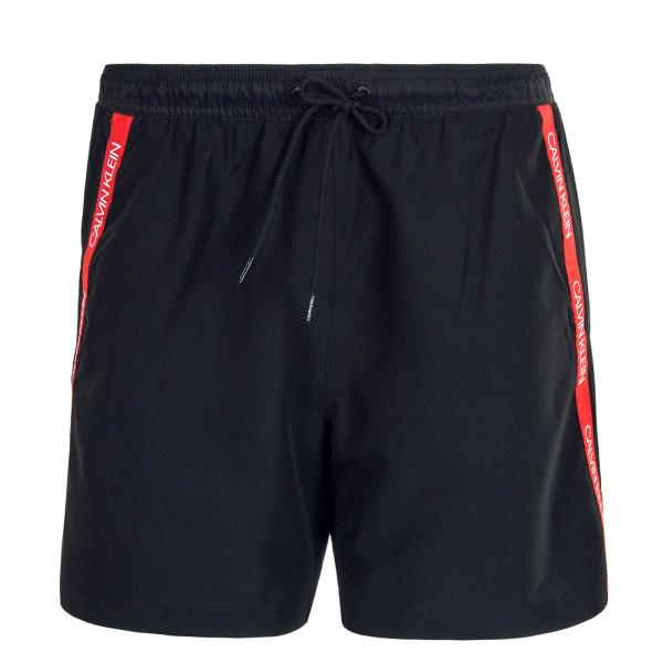 Herren Boardshort 425 Black Red