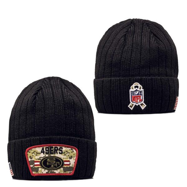 Beanie - NFL21 STS Knit San Francisco 49ers - Black