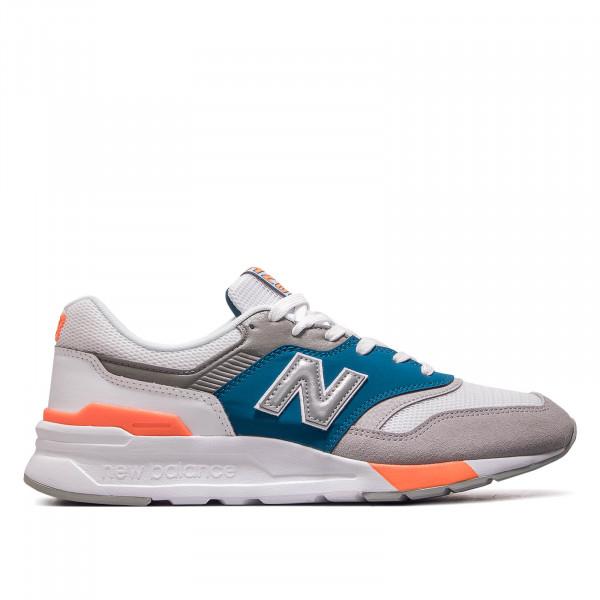 Herren Sneaker CM997 HCP White Grey Blue