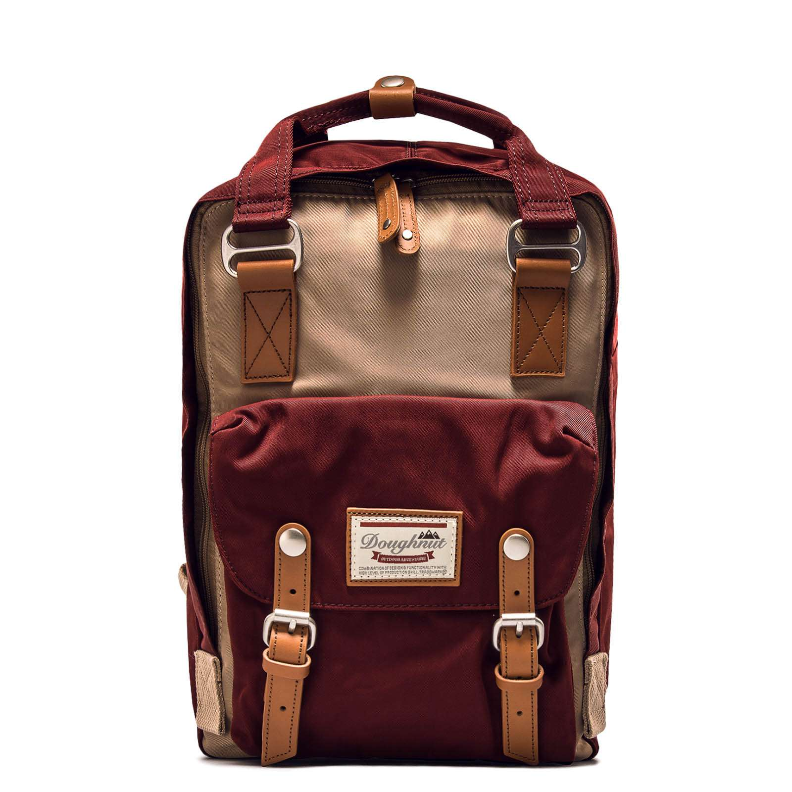 Backpack Macaroon Hazelnut Wine