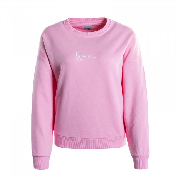 Damen-Sweatshirt Signature Pink White