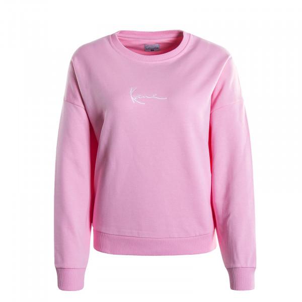 Damen-Sweatshirt Signature Pink White