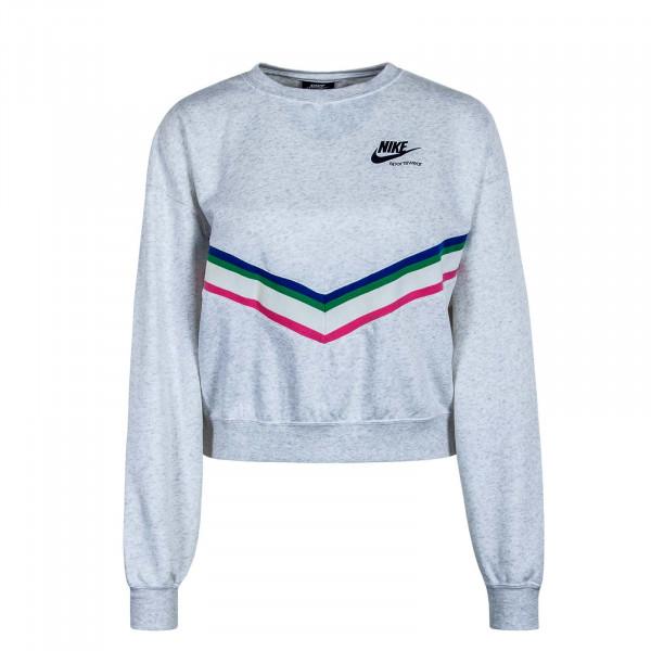 Damen Sweatshirt Heritage Crew CU5877 Grey