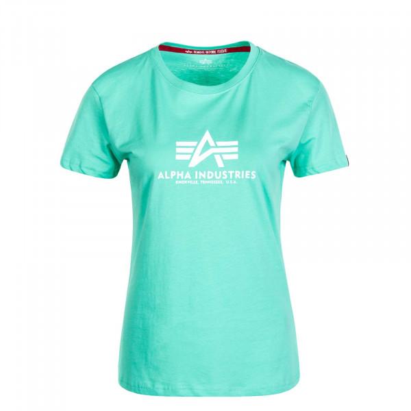 Damen T-Shirt New Basic Pastel Mint
