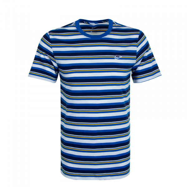 Herren T-Shirt 2702 Stripe Blue White