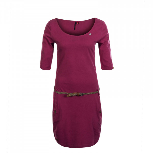 Damenkleid Tanya Solid Rose Pink
