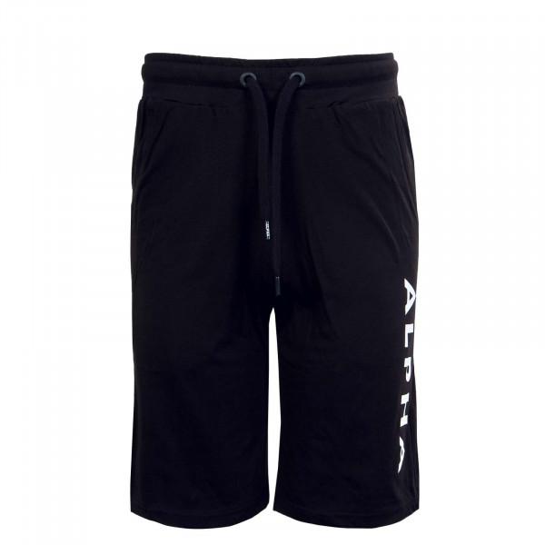 Herren Short - Alpha Jersey - Black