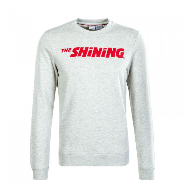 Herren Sweatshirt The Shining Light Grey