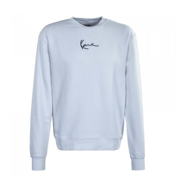 Herren Sweatshirt - Small Signature - Crew White