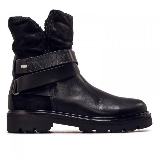 Damen Boot Reflective Detail Black