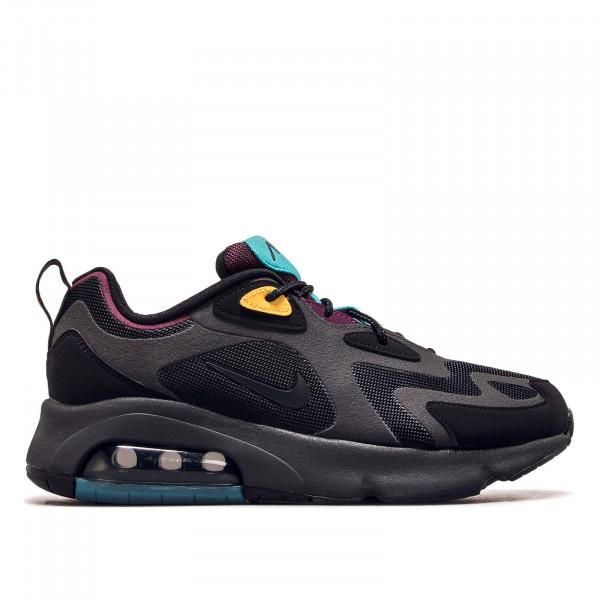 Herren Sneaker Air Max 200 Black Anthrazit