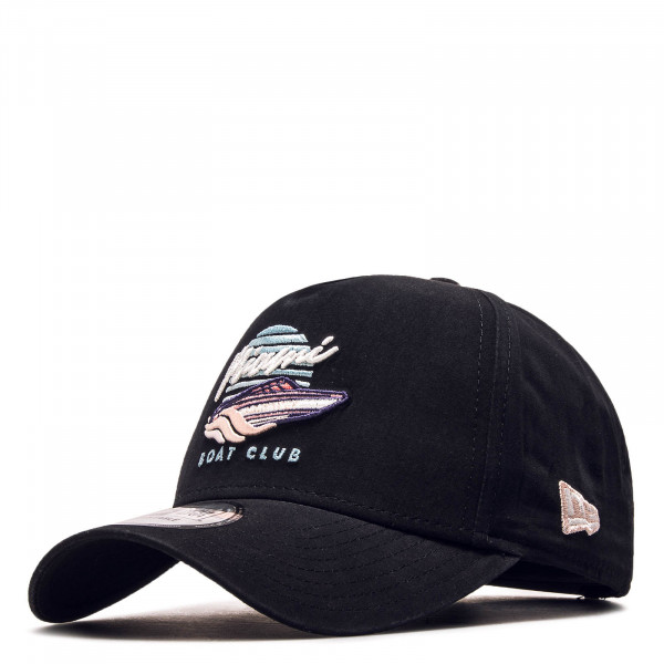 Cap Beach Trucker Black