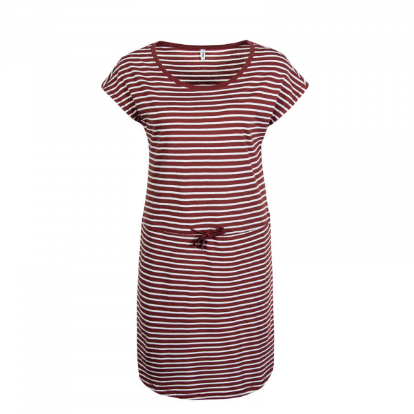 Kleid May Stripe Red White