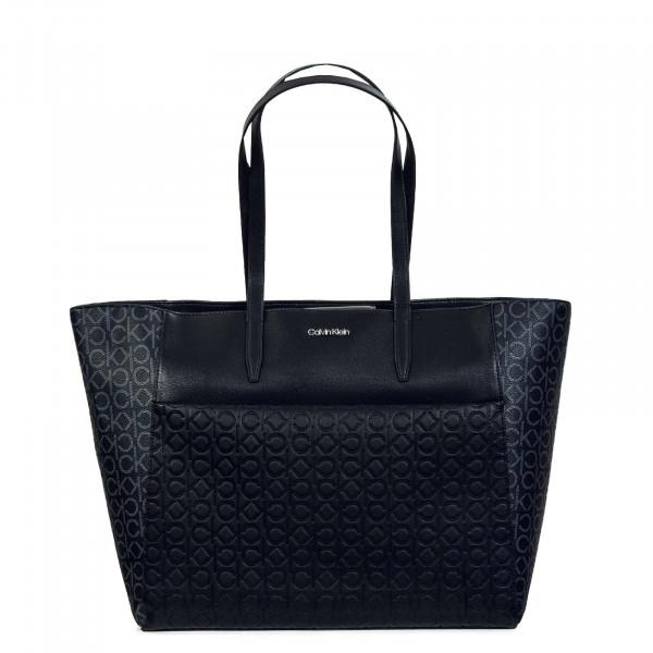 Damen Tasche - Mono Mix Shopper 4230 - Black / Mono