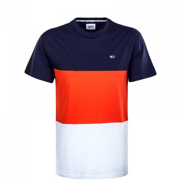 Herren T-Shirt - Classic Color Block - Horizon / Multi