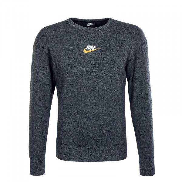 Herren Sweatshirt Heritage 928427 Black Melange